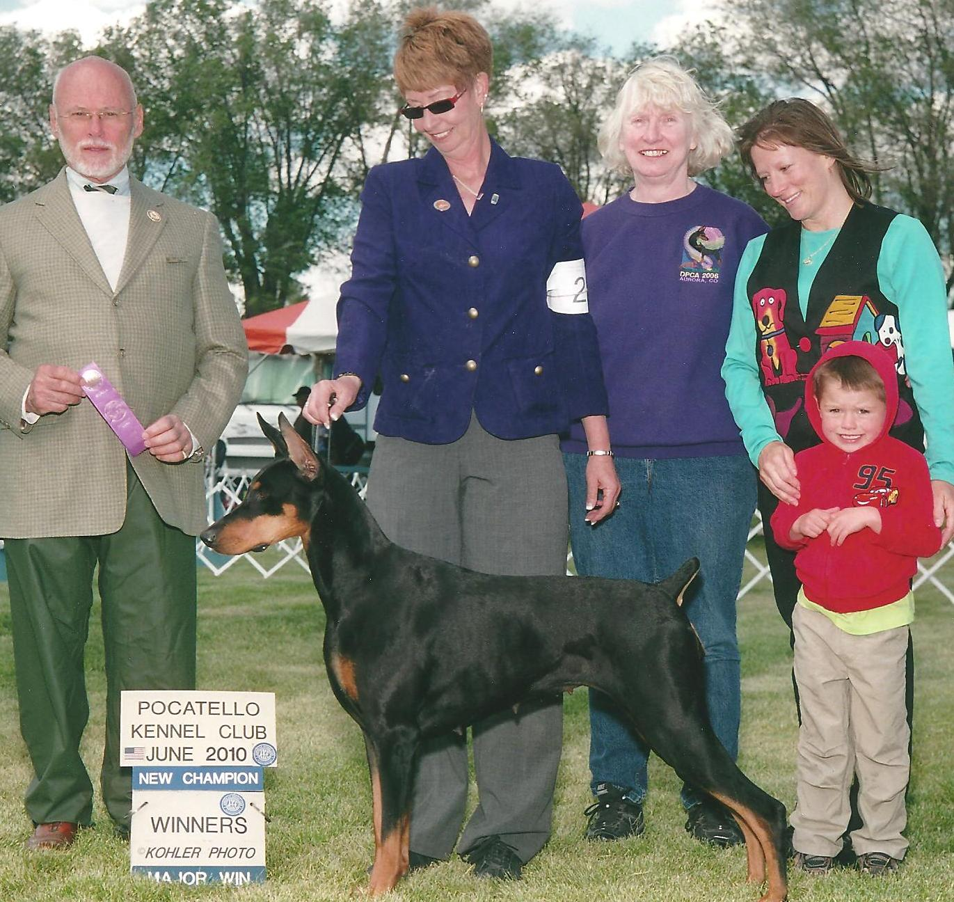 New AKC CH June 2010